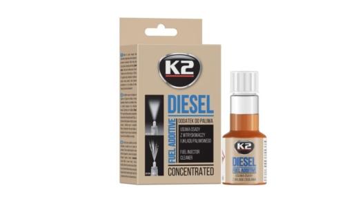 K2 DIESEL 50ML Fuel injection cleaner